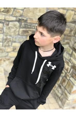 Худи для мальчиков модель 1102/1 цвет чёрный