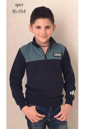 Гольф для мальчиков модель 1115/4 цвет синий