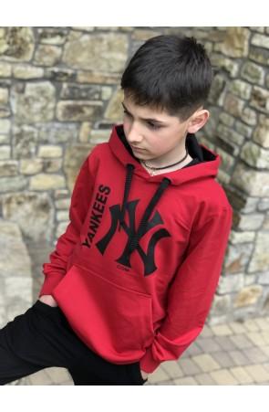 Худи для мальчиков модель 1101 цвет красный