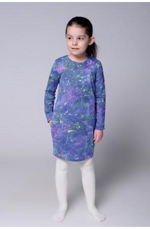 Платья для девочки трикотажное модель 0707