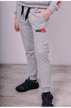 Спортивные штаны для мальчика модель 1710 цвет серый