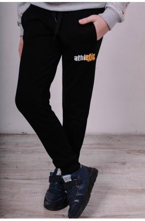 Спортивные штаны для мальчиков модель 1710/1 цвет тёмно-серый