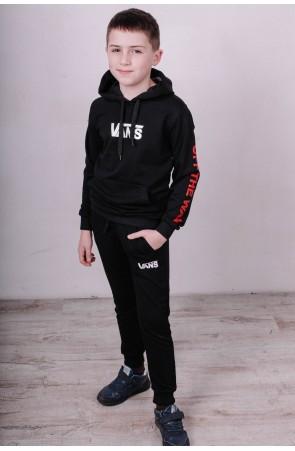 Спортивный костюм для мальчиков модель 2100/1 цвет чёрный